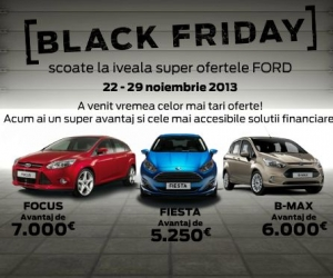 BLACK FRIDAY 2013 - OFERTA Ford
