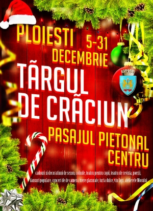 Craciun 2014 - Targul de Craciun - program 15 decembrie